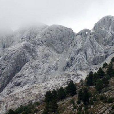 Cerro Ventana a 5 kilómetros de la cabaña por ruta 76