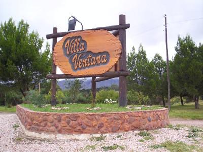 Las calles de Villa Ventana