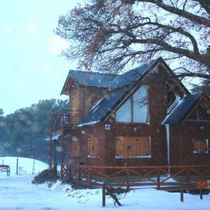 Una de las tantas nevedas de la Villa