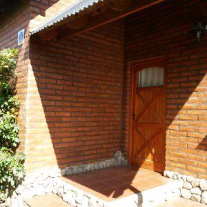 Porch de la cabaña